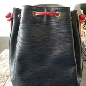 Louis Vuitton Bags - LV Epi Noe Black and Red